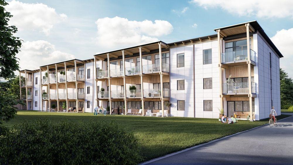 De kommunale boligene i Vårgårda har blitt atskillig mer verdt etter rehabiliteringen.