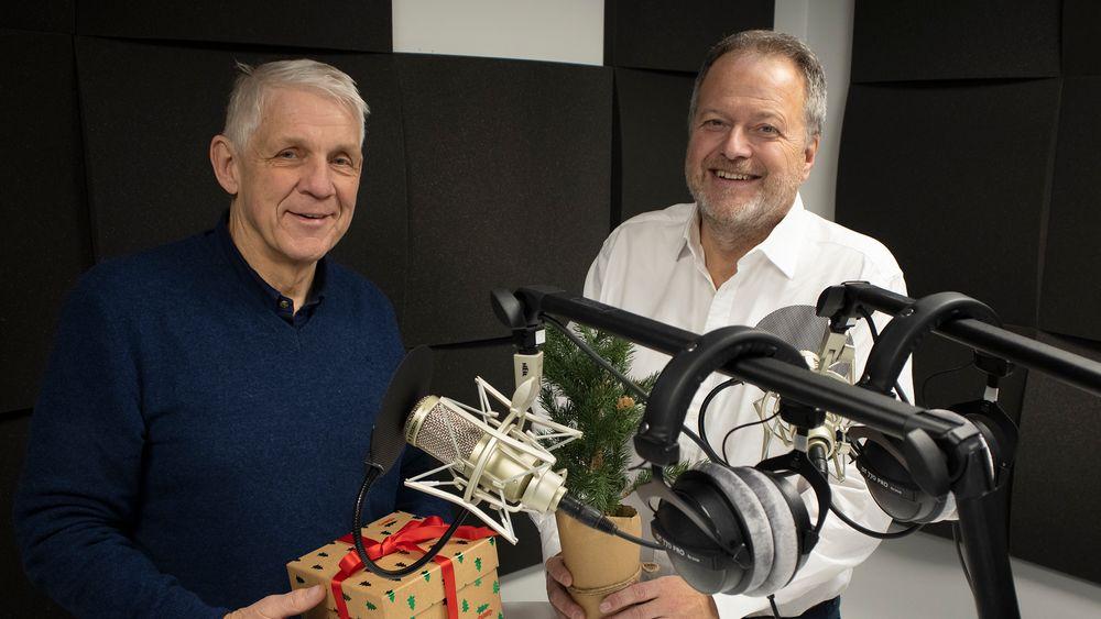 Fram og tilbake:  Jan og Odd Richard tar en titt på teknologiutviklingen i tiåret som gikk og spår om den som kommer fram til 2020.