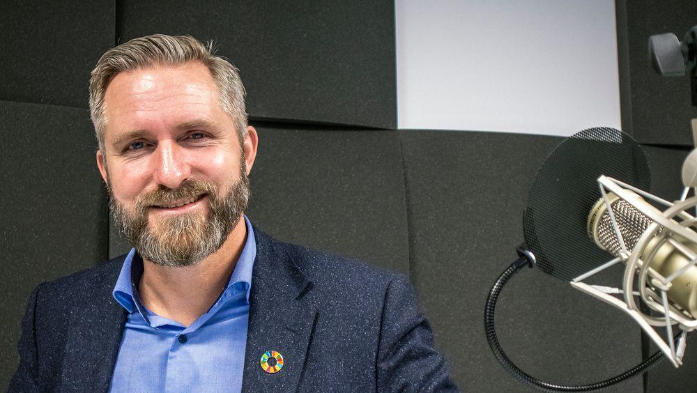 Vil gjøre plastindustrien sirkulær: Direktør for bærekraft i forsknings- og konsulentselskapet Norner, Thor Kamfjord, vil bruke plast som råstoff for ny plast.