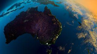 1. nyttårsdag flyttet deler av Australia 1,8 meter mot nordøst