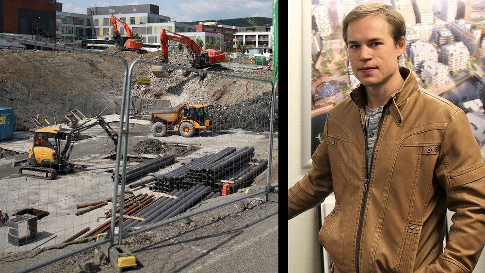 Håkon Reisvang tror vi vil få en digitaliseringsboom i byggebransjen dette tiåret.