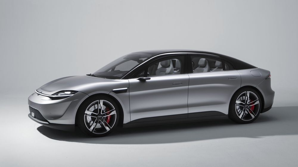 I all hemmelighet har Sony utviklet sin egen elektriske konseptbil, Vision-S.
