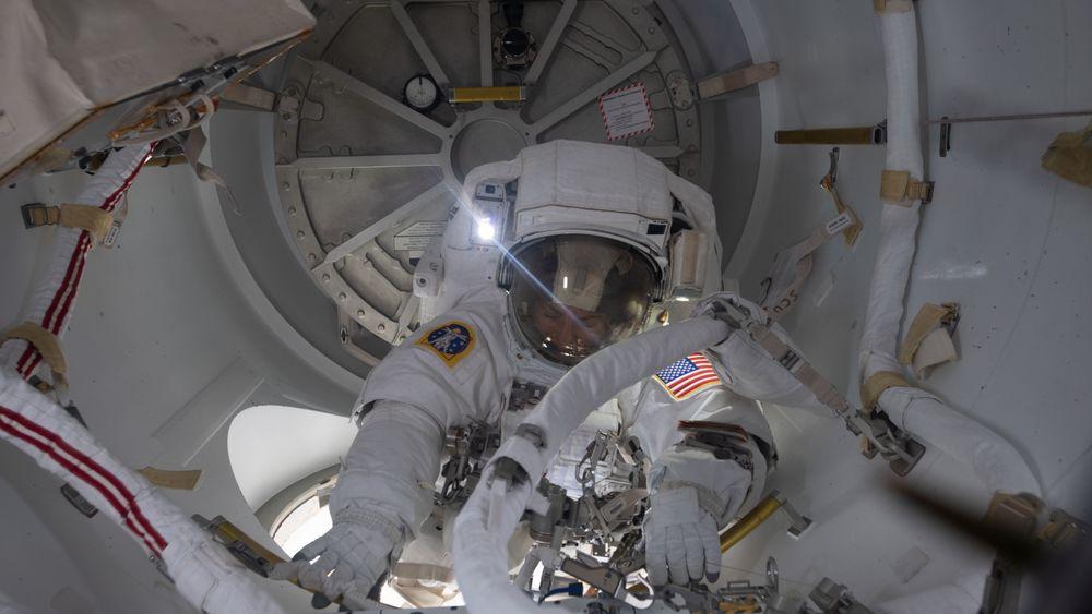 En astronaut på ISS ble rammet av en blodpropp som ble oppdaget under et medisinsk forsøk. Dette bildet er ikke relatert til saken.