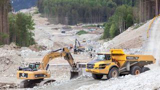 Sp vil endre anbudsregler for å beskytte norsk anleggsbransje