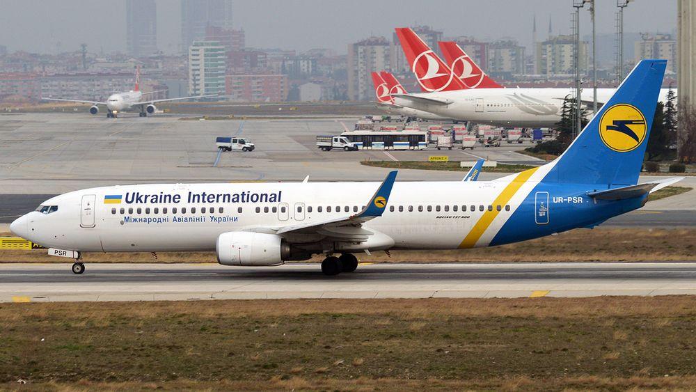 Det var dette Boeing 737-800-flyet fra UIA som styrtet ved Teheran onsdag morgen.