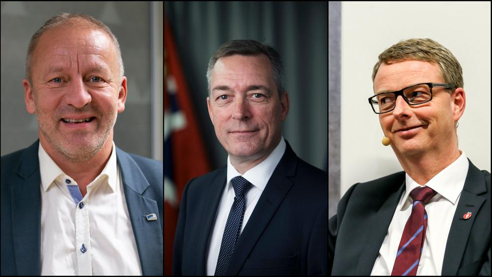 Geir Inge Sivertsen (H) er sivilingeniør og statssekretær i Næringsdepartementet. Forsvarsminister Frank Bakke-Jensen har fagbrev som skipstekniker, mens folkehelseminister Terje Søviknes er utdannet akvaingeniør.