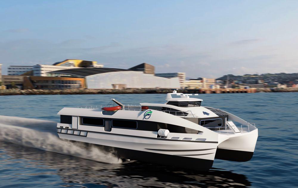 Flying Foils er ett av konseptene for nullutslipps hurtigbåt.