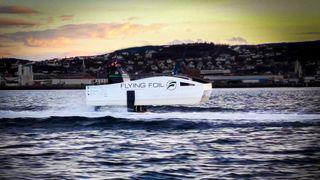 Prototyp testes for 40 knop på batterier mellom Kristiansund-Trondheim