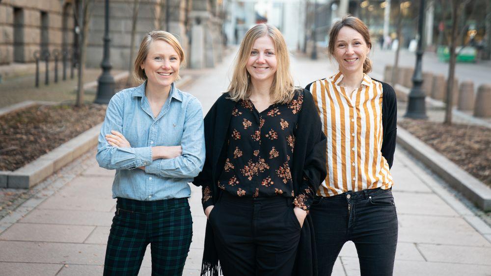 Teknisk Ukeblad Medias nye satsing heter Karriere360.no og består av journalist Tuva Strøm Johannessen (t.v.), redaktør Jannicke Nilsen og journalist Kjersti Flugstad Eriksen (t.h.).