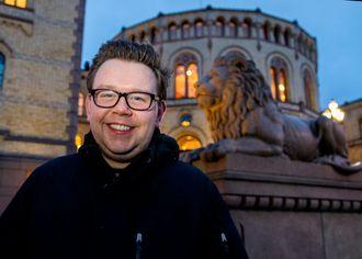 Forfatteren Kim Arne Hammerstad, som kommer med en bok til uka om politiske skandaler i norsk politikk.