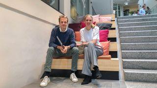 Kristian Jul Røsjø og Anne Solhaug Tutar er to av lederne for gründerprogrammet som Antler har startet opp i Oslo.