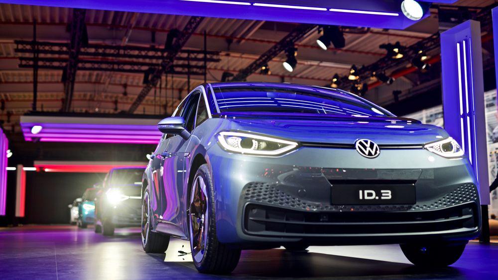Volkswagens kommende elbil ID.3.