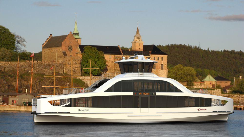 Indre Oslofjord får fem elektriske øybåter i 2021.