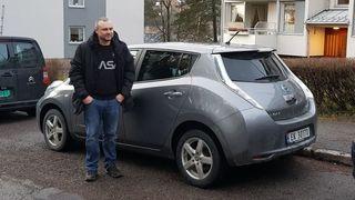 Etter seks år og 100.000 km har Kenneth Bårlis Leaf samme kapasitet som da den var ny.