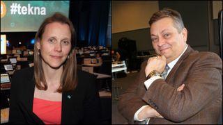 To ingeniører av 99 i regjeringsapparatet: – Her har vi en jobb å gjøre