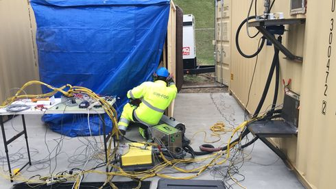 DNV GL: Vanntåke er best til å slokke batteribranner på skip