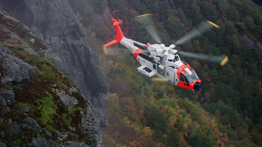 Det har pågått test og evaluering av AW101 i Norge i over to år. Nå nærmer det seg innfasing på Sola-basen, uten at departementet eller Forsvaret vil oppgi nøyaktig dato.