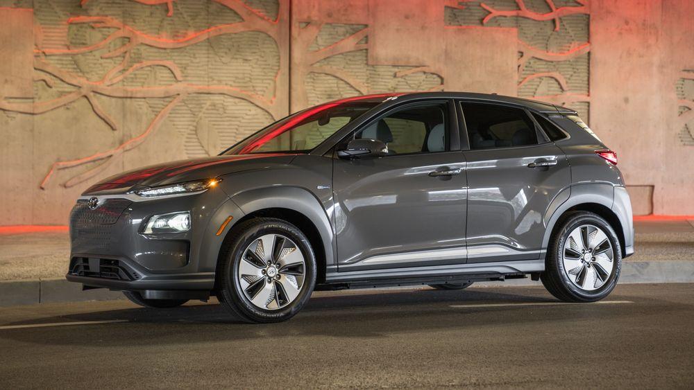 Ny dekktype gir Hyundai Kona-sjåførene åtte prosent mindre rekkeviddeangst.