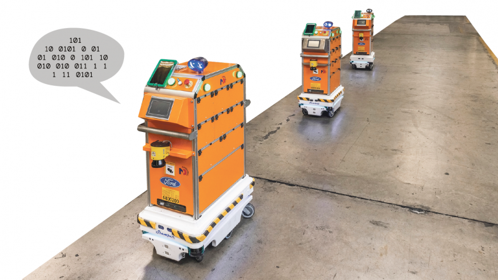 I dag er det ikke mye sosial intelligens i de forskjellige typene transport-roboter som ferdes blant mennesker på fabrikker og sykehus. Og veien til reelt «sosialt intelligente» roboter er både lang og kronglete, mener mange eksperter på området.