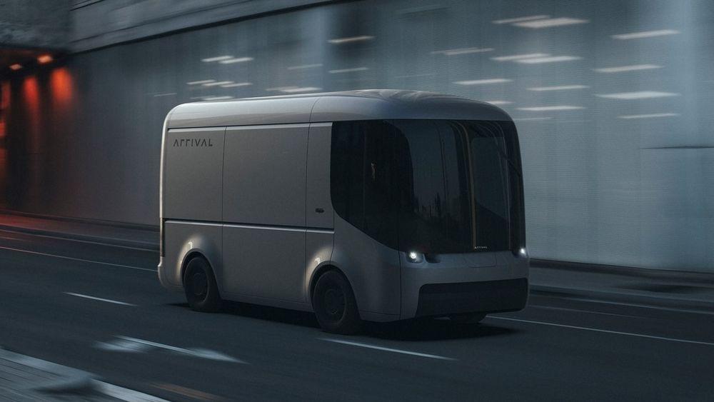 Den elektriske varebilen Arrival har et svært moderne utseende.