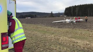 En død og en skadet i småflyulykke ved Kongsvinger
