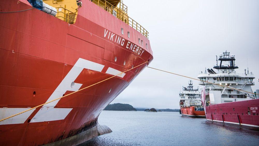 Viking Energy har allerede installert batteripakke og sparer 30 prosent drivstoff under DP-operasjoner.