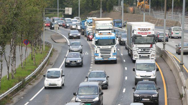Trafikkforskere frykter for arbeidsplasser – spår 78 prosent mer kø i 2035
