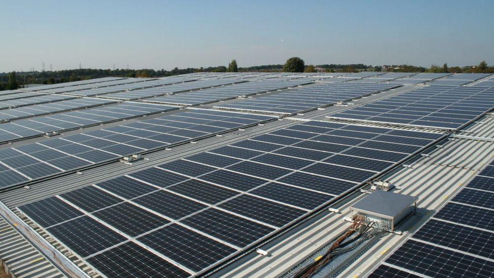 Solenergi leverte i fjor ti prosent av all elektrisitet som ble forbrukt i Tyskland.