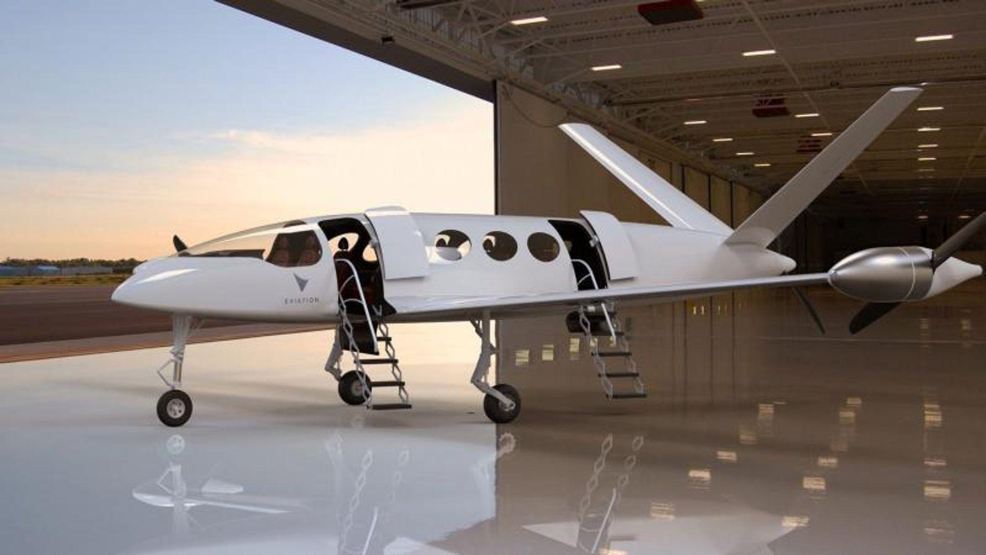 Prototypen Alice fra israelske Eviation betegnes som en lovende prosjektene innen el-passasjerfly.