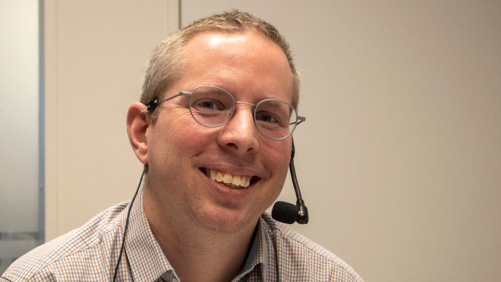 Fargeglad: Marius Pedersen er professor i fargebildeteknologi ved NTNU i Gjøvik.