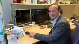 Dieu Tien Bui er professor ved Universitetet i Sørøst-Norge og er for tiden en av verdens mest siterte forskere.