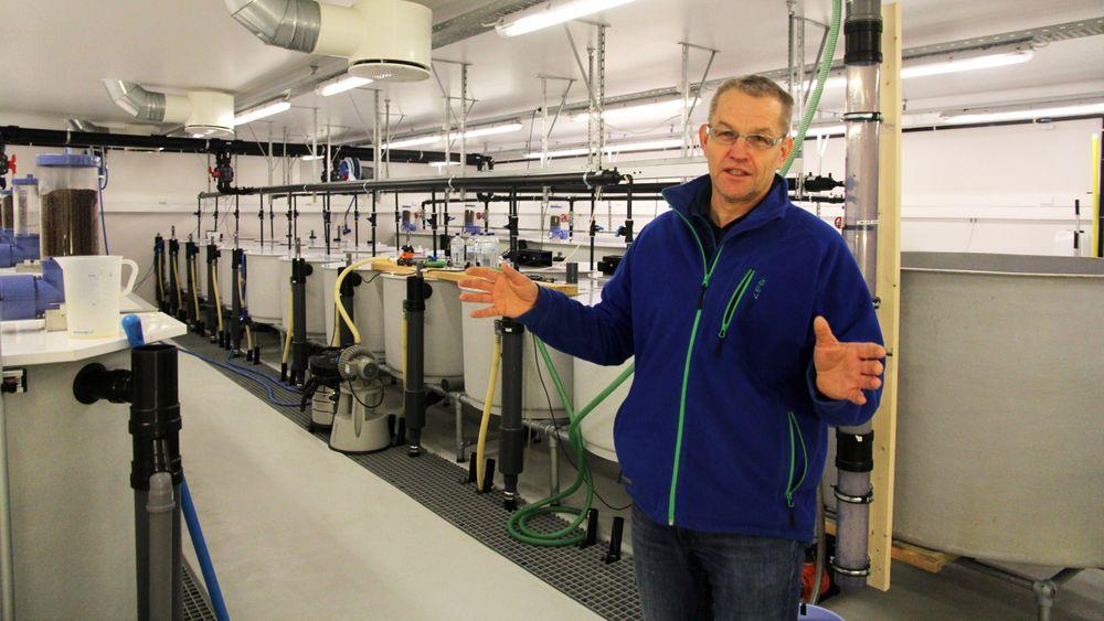 Odd-Ivar Lekang tror tilsetning av bakterier i fiskefôret kan bli den neste utviklingen i oppdrettsnæringen.