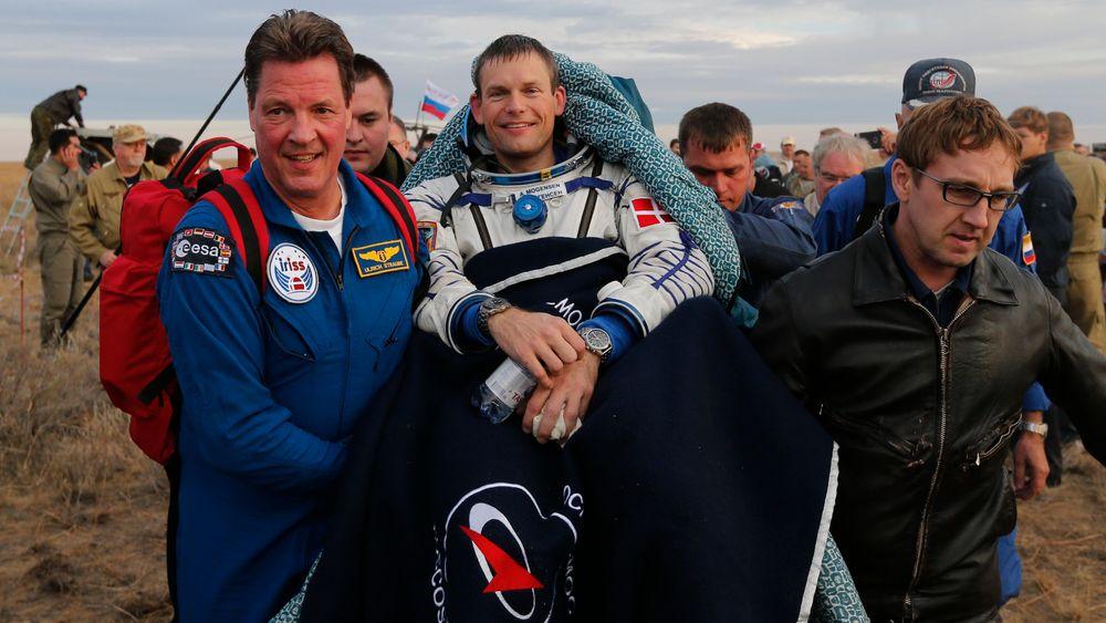 Før Andreas Mogensen ble astronaut og kunne ta på seg romdrakten, var han blant annet ingeniør på en oljeboreplattform i Kongo.