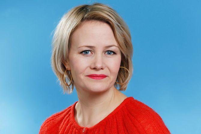 Programleder Sigrid Sollund i NRK.