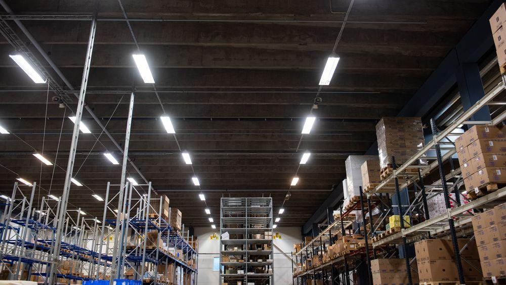 Oppvarming av et høytlager på over 9000 kvadratmeter krever energi. Mye energi.