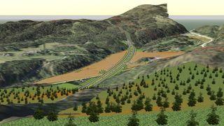 Nye Veier delte kjempetunnelen i to, sparte 200 millioner