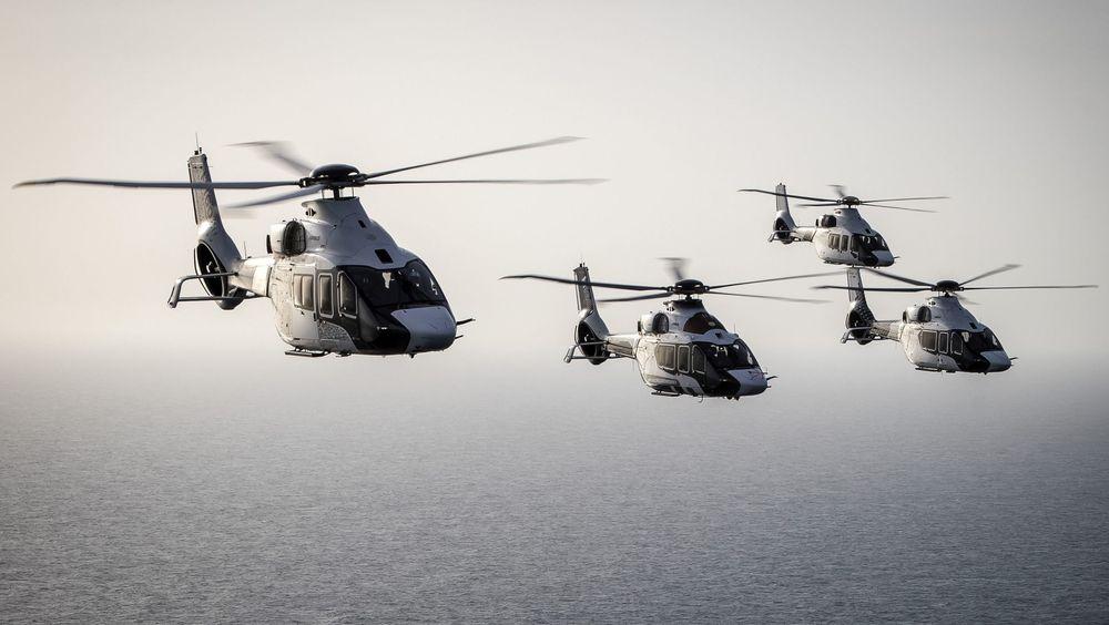 Fire H160-prototyper under testinga som nå nærmer seg slutten.