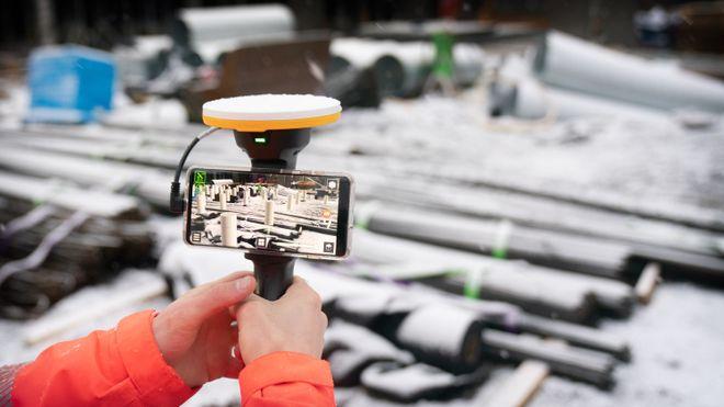Veidekke kutter flaskehalsene i byggeprosjektet med 3D-modeller som legges oppå virkeligheten