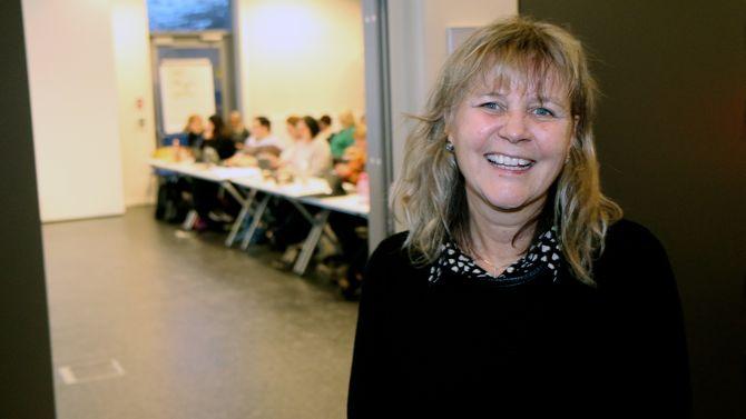 Prosjektleder Kari Vold Jensen i PBL er strålende fornøyd med å være i gang.
