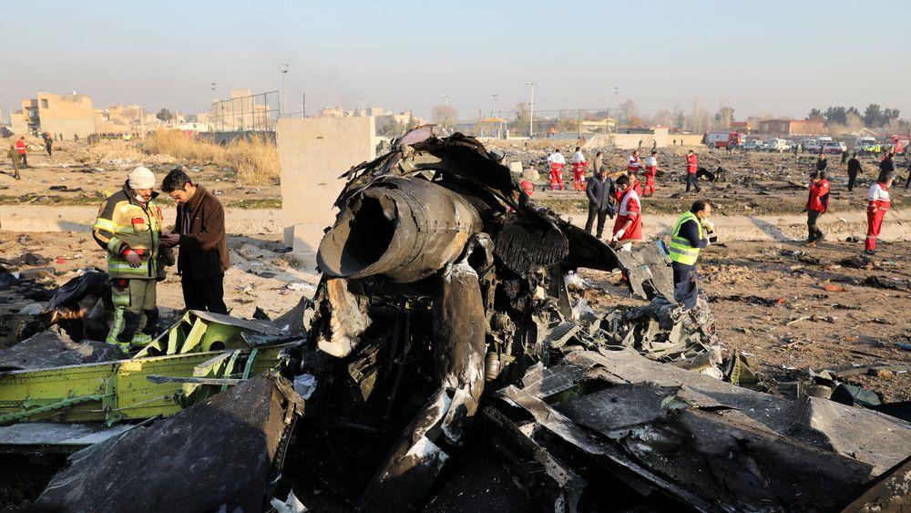 Det ukrainske flyet ble skutt ned rett etter avgang fra Teheran 8. januar i år.