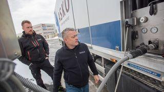 Norsk selskap er først ute med lastebiler som bare går på hydrogen