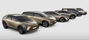 Elbilkonsepter Toyota viste frem i 2019.