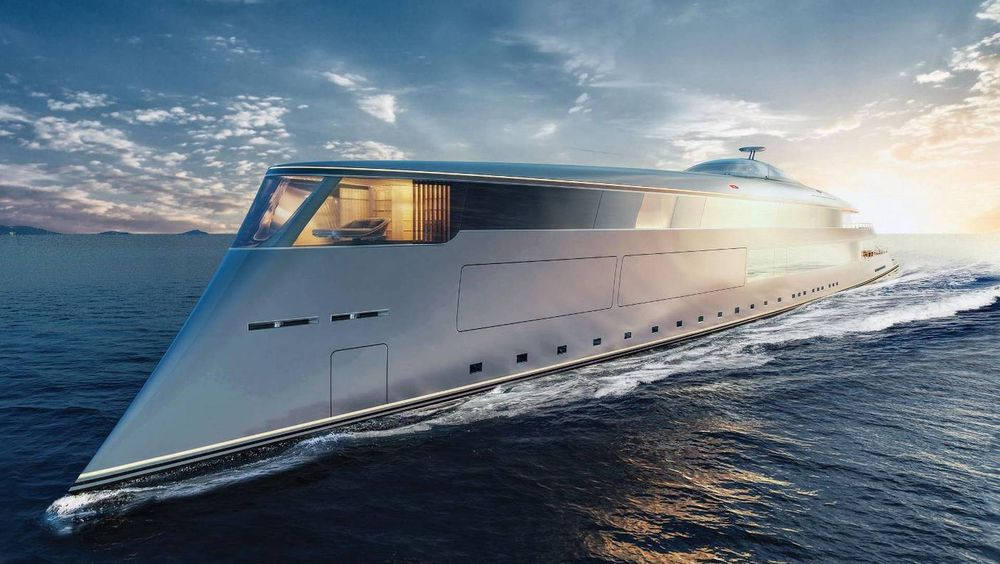 Aqua skal være 112 meter lang og ha en topphastighet på 17 knop.