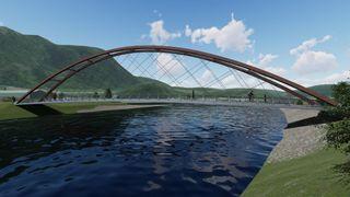 Her er den første brua som bygges med teknologien som kan få slutt på at norske bruer bygges i Kina