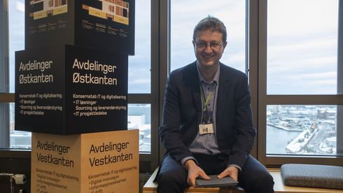 Arne Erik Berntzen er IT-direktør i Posten Norge.