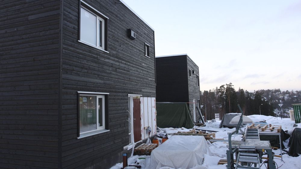 Byggkvalitetsutvalget foreslår enklere regler for byggenæringen. Illustrasjonsbildet er fra et prosjekt på Mortensrud i Oslo.