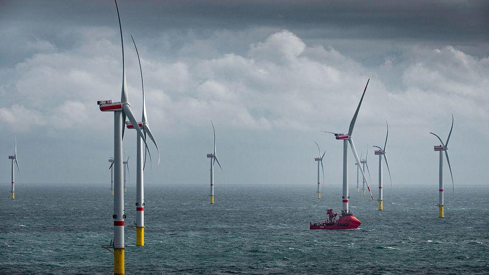 Offshore vind vokser over hele Europa. Aldri er det bygd mer enn i 2019.