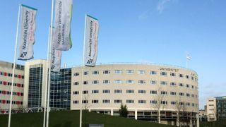 Universitsbiblioteket i Maastricht, lokalisert i Randwyck.