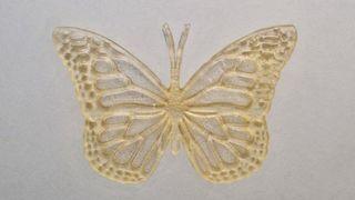 Denne sommerfuglen er 3D-printet med frityrolje fra McDonald's
