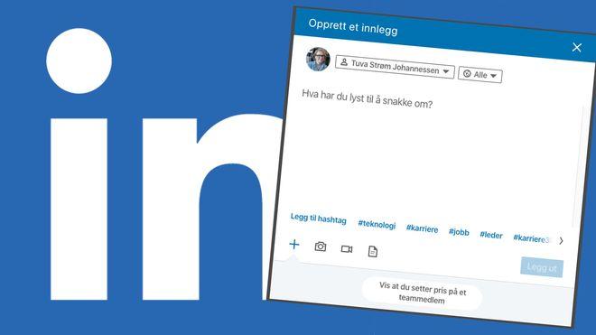 Her er de nyeste tipsene for hvordan bli synlig for arbeidsgivere på Linkedin